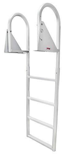 Extreme Max 3005.3473 Flip-Up Dock Ladder - 4-Step