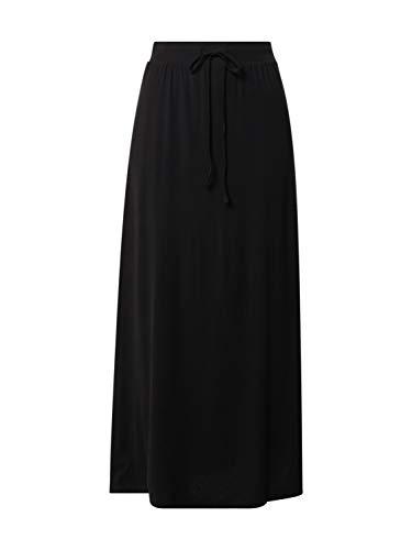 VERO MODA Damen VMAVA NW Ancle Skirt GA NOOS Rock, Black, S