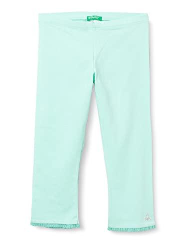 United Colors of Benetton (Z6ERJ Leggings 3MT1I0820, Verde Acqua 27Q, M Bambina