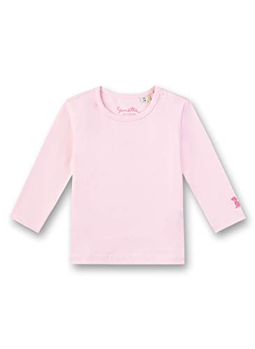 Sanetta Fiftyseven Shirt, Rose (Magnolie 3609), 74 (Taille Fabricant: 074) Mixte bébé
