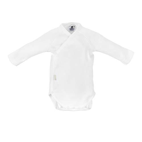 Cambrass 2267 - Body de manga larga para recién nacidos, talla 56 cm, color blanco
