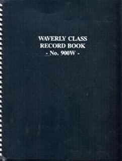 Waverly Class Record Book (Waverly Class Record Book, 900W)