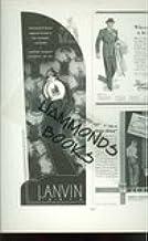 "Advertisement for Lanvin Paris ""The Hand of Lanvin Captures Illusion in Four Dramatic Perfumes: Arpege, Rumeur, Scandal, M..."