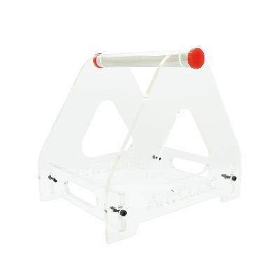 HH-DYHC, Impresora 3D 1pc filamento de cola de impresión en 3D Titular de acrílico Parte de mesa soporte en forma for el 1 Carrete Usado ABS / PLA / otros materiales de impresión 3D ( Color : White )