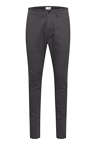 !Solid Artus - Pantalones chinos para hombre (corte ajustado), Forged Iron (193907)., 33W x 34L
