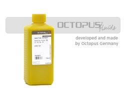 Tinta de recarga de Octopus compatible con Brother LC-121, LC-123, LC-125 LC-900, LC-970, LC-980, LC-985, LC-1000, LC-1100, LC-1220, LC-1240, LC-1280XL cartuchos de impresora, cartuchos de tinta amarilla, 500ml, No OEM