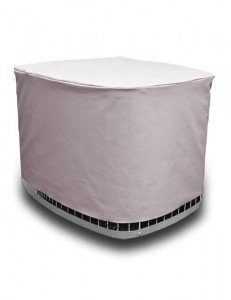 Air Conditioner Cover: CUSTOM AC Winter Cover for Outside Unit Designed to fit Your EXACT AC Unit PERFECTLY. No more worry about Cover blowing off or using bungee cords to hold down your generic cover
