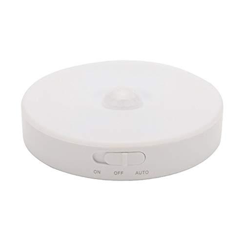 0,6 W mesita de noche armario Smart Light sensor LED regulable luz nocturna que crea un ambiente de luz cálido y débil.