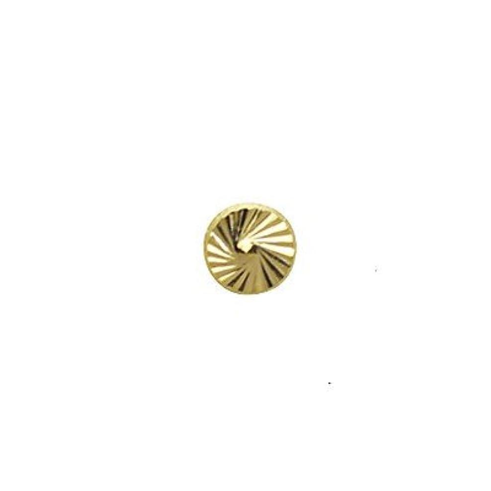 不格好階スクラップSHAREYDVA ネイルパーツ サンシャインスタッズ ゴールド 4mm 20P