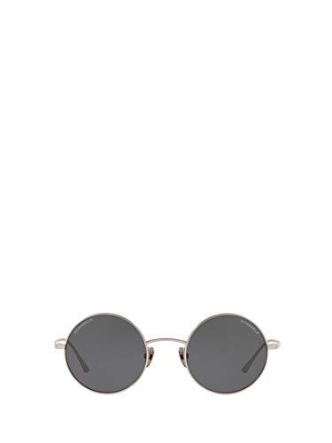 Luxury Fashion | Chanel Dames CH4257TC372S4 Grijs Metaal Zonnebrillen | Seizoen Permanent