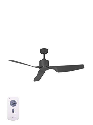 Lucci Air Deckenventilator Airfusion Climate II, DC Motor energiesparend, inklusive Fernbedienung, 6 Geschwindigkeiten, 127 cm Durchmesser, charcoal, 210527