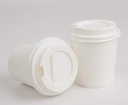 •GOLDEN APPLE, Disposable Paper Coffee Cups 4 oz. Cups & Lids Quantity 50 cups per pack.