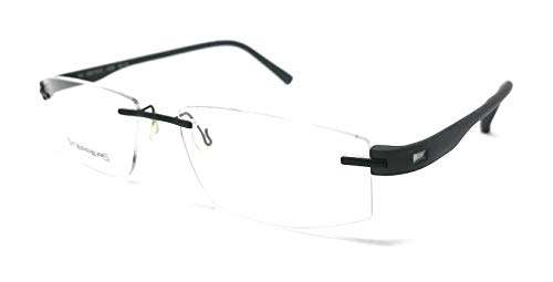 Steppers STS 70101 F029 - Gafas de vista para hombre y mujer, color negro mate