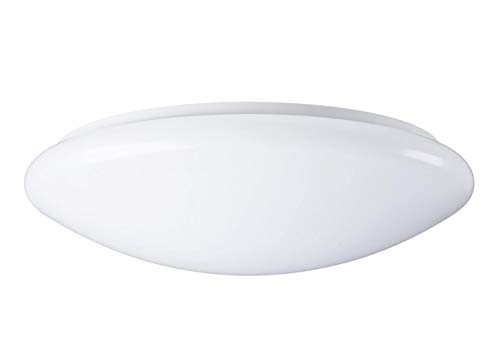 Sylvania SYL0043282 Luminaire a led Sylcircle 18 watts 1100 lumens, Aluminium, W, Blanc, 38.97 x 39 x 10.07 cm