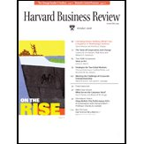 Harvard Business Review, October 2006 audiobook cover art