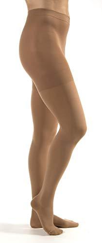 JOBST Calcetines de compresión para alivio de la cintura, puntera cerrada, de alta calidad, unisex, legware extra firme para piernas cansadas y pesadas, clase de compresión: 20-32