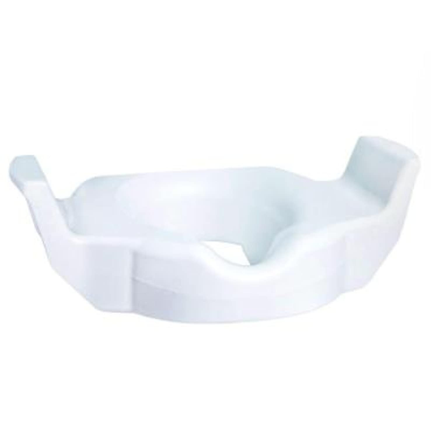 Glacier Bay TB-TSTDC-01 Universal Elevated Toilet Seat - White
