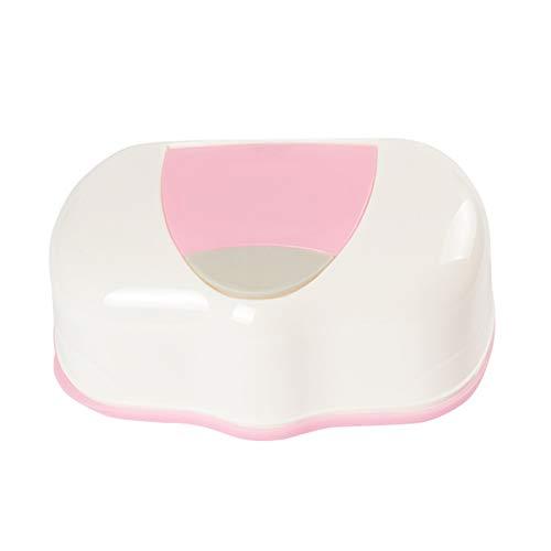 Ruiting Limpie bebé Caso Titular Caja de Tejidos toallitas de plástico