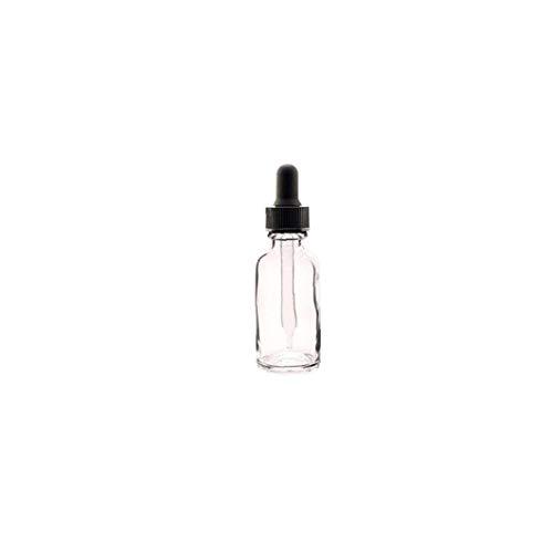 Naicasy 12 Piezas de plástico Transparente Jar Botella de Aceite Esencial con el cuentagotas de Maquillaje cosmético de la Muestra Recipiente Botella Pot 30ml