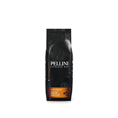 Pellini Caffè, Café en Grano Pellini Espresso Bar No. 82 Vivace - 500 gr, Paquete de 2