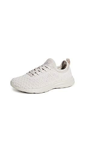 APL: Athletic Propulsion Labs Women's Techloom Phantom Sneakers, Clay, Grey, 10.5 Medium US