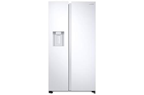 Samsung RS6GA8831WW, EG SidebySideKühlschrank mit SpaceMaxTechnologie, 409 Liter Kühlschrankvolumen, 225 Liter Gefriervolumen, 351 kWh/Jahr, Weiß