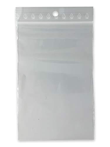 Lot 1000 sachets à fermeture zip format 80x120 mm (8x12 cm) pochettes qualité alimentaire, prélèvement, aux normes européennes de production plastique - 50 microns