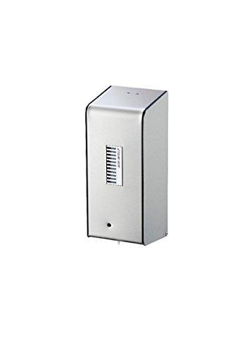 AIR-WOLF Seifenspender mit Sensor für 0,8 Liter Flüssigseife, Edelstahl transparent pulverbeschichtet, Serie Lobo