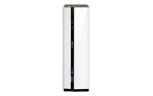 QNAP TS-128A Desktop NAS Gehäuse mit 1 GB DDR4, Powerful 1-Bay Storage Server