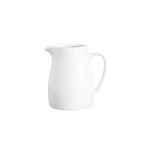 Precio y Kensington Simplicity–Jarra (Porcelana, 180ml, Pack de 83, Color Blanco