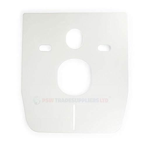 Schallschutz für Wand-WC und Bidet, weiß 5 mm
