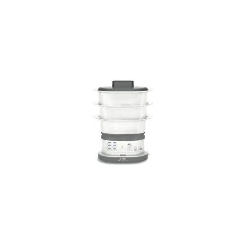 Seb vc130b00 cuiseur vapeur - blanc/gris