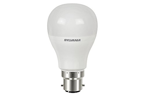 Sylvania 0026677 Toledo GLS Lampe LED compatible variateur d'intensité V3, 810 lm Flux lumineux, B22/Base, finition dépoli, verre, 827 Homelight, B22, 10 watts