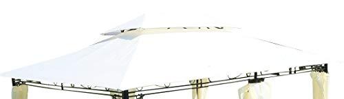 ASS Dachplane für Gartenpavillon 3x4m wasserfest für Modell: 7075 - kein Umtausch oder Rückgaberecht von