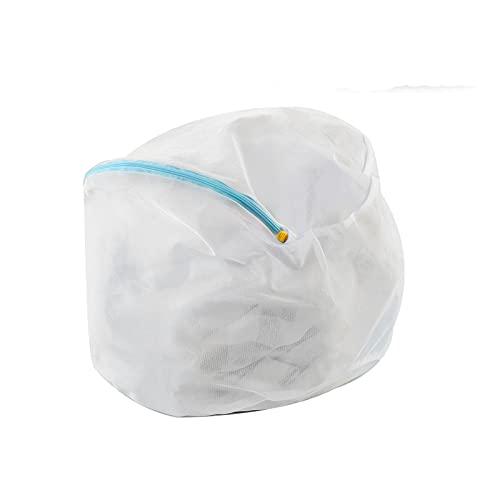 洗濯ネットランドリー ネットバッグ 洗濯袋セット ファスナーカバー付 絡み防ぎ 型崩れ防止洗濯袋 ウォッシュ バッグ ドラム式/乾燥機対応 旅行・家庭用 超細目 (サイズ1)