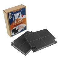 Confezione 2 pz Filtro antiodore al carbone attivoFaber, Merloni Ariston, Electrolux, Whirlpool, Fagor Brandt