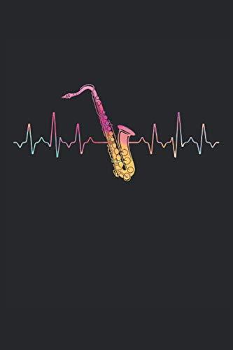 Terminplaner 2021: Terminkalender für 2021 mit Heartbeat Saxophone Cover | Wochenplaner | elegantes Softcover | A5 | To Do Liste | Platz für Notizen | für Familie, Beruf, Studium und Schule