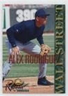 alex rodriguez royal rookie card