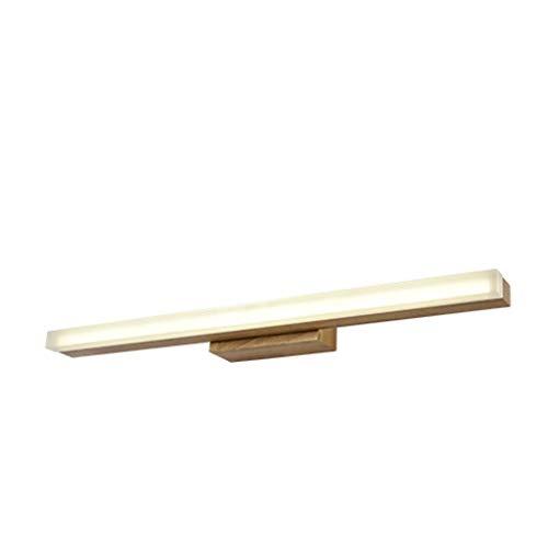 Wandleuchte Nordic Creative Original Holz Wandleuchte Moderne Minimalistische Garderobe Kommode Spiegelschrankleuchten Led-Lampen, BOSS LV, Groß
