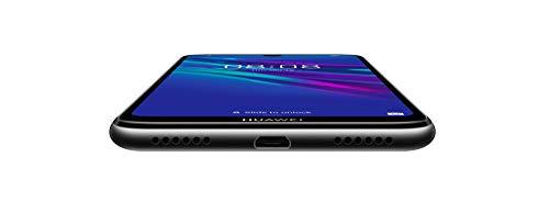 HUAWEI Y6 2019 Dual-SIM Smartphone 15,46 cm (6,09 Zoll) (3020mAh Akku, 32 GB interner Speicher, 2GB RAM, Android 9.0) midnight black
