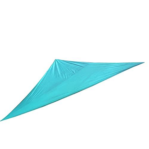 Refugio de vela antiUV, impermeable, protección de triángulo, protección contra el 98% de protección contra rayos UV, protección contra rayos UV para camping, picnic, protección solar