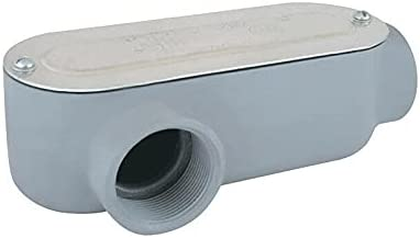 Denver Mall Aluminum Type LR Thread Conduit Body in. mana Cable 4 3 OFFicial mail order fittings