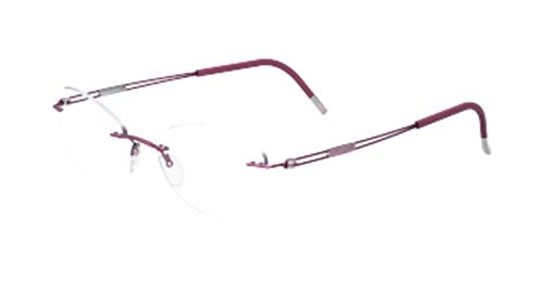 Eyeglasses Silhouette TNG 2018 (5521) 4040 Orchid Pink 48/17/135 3 piece frame