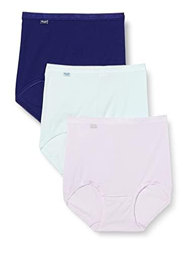 Sloggi Basic+ Maxi C3P sous-vêtement, Multiple Colour 9, 54 Femme