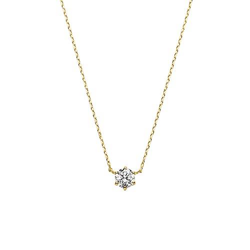 [VAヴァンドーム青山] VA VENDOME AOYAMA K18YG ダイヤモンド 0.20ct 一石 ネックレス GGVN007840DI