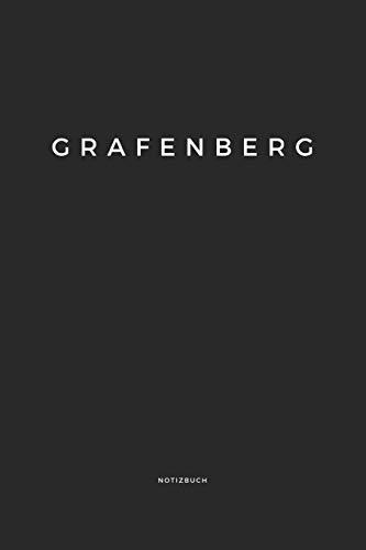 Grafenberg: Notizbuch | Notizblock | DIN A5, 120 Seiten | Liniert, Linien, Lined | Notizen, Termine, Planer, Tagebuch, Organisation | Deine Stadt, Dorf, Region und Heimat
