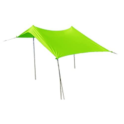 Camping Playa de Verano Tienda de sombrilla de Playa Playa al Aire Libre Tienda de Sol Sun Shelter 210 * 170 * 150cm Tienda Tipi (Color : Green)