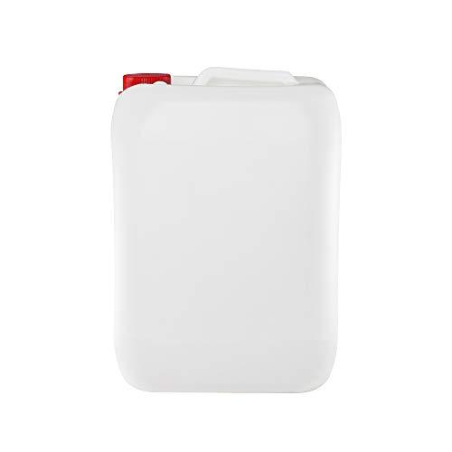 Garrafa bidon de plastico de 25 litros homologado ADR boca ancha ideal para agua gasolina y químicos también como deposito para aire acondicionado / camping / furgoneta camper / (1)