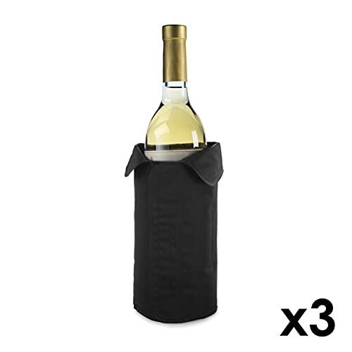 Funda Enfriadora para Botellas de Vino | Manga Enfriadora Ajustable de Nailon| Enfriador Activo de Vino | Cierre de Velcro (3)