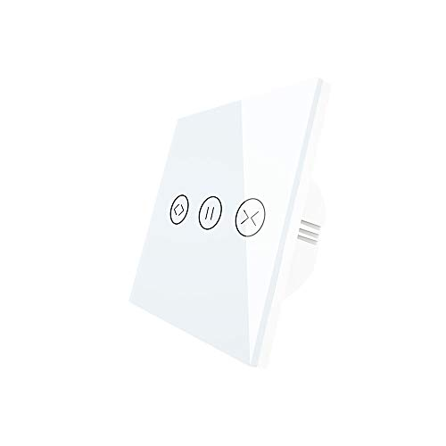 KKmoon schakelaar voor gordijnen, wifi, smart, elektrisch, rolgordijn, met touch-spraakbediening, timer, SmartLife